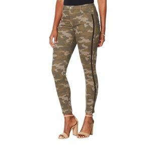 NWT Skinny Girl Camo Broadway Skinny Pants 16W